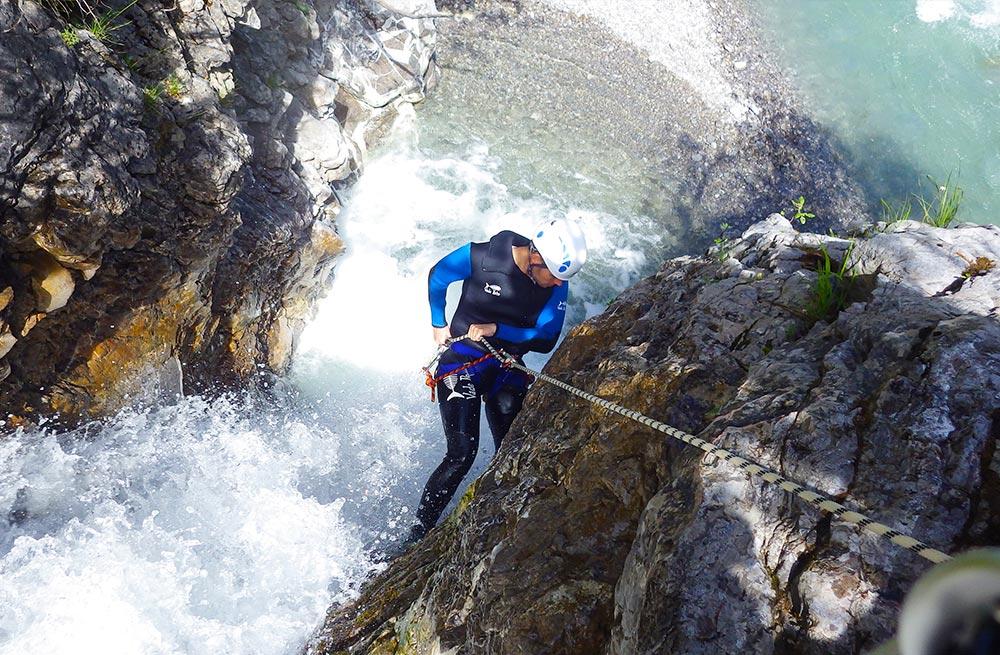 Canyoning-Alpine-Passion-Hochalp1_Einsteiger
